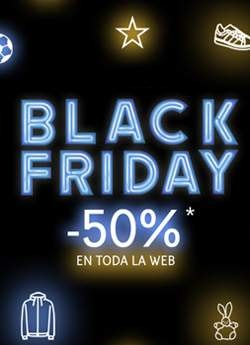 Black Friday Todo a -50%