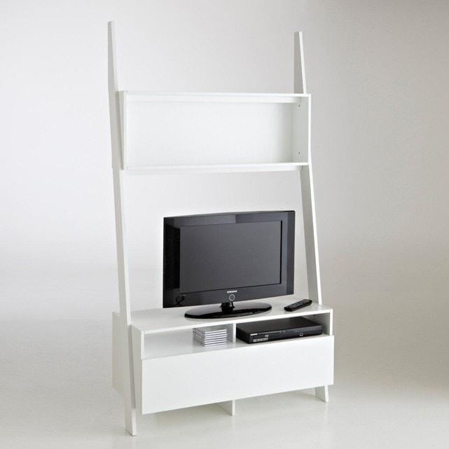 étagère échelle Meuble Tv Domeno Blanc La Redoute Interieurs La