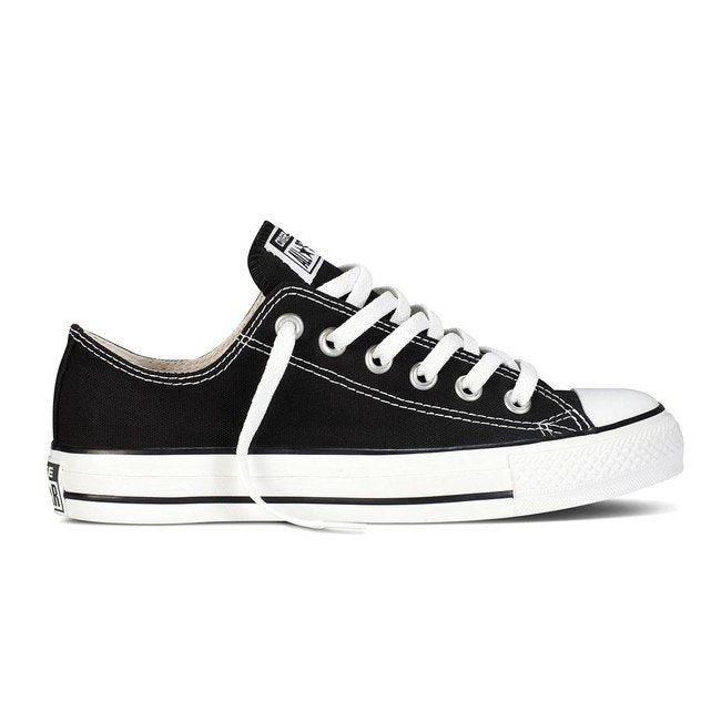 b8a94bfc50489 Baskets basses chuck taylor all star ox canvas noir Converse   La Redoute