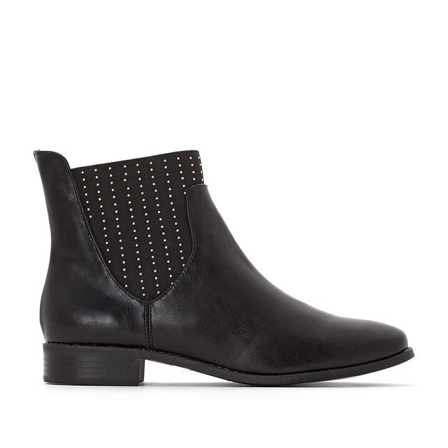 Noir Chelsea Collections Redoute Boots Détails Clous La 0Awgp