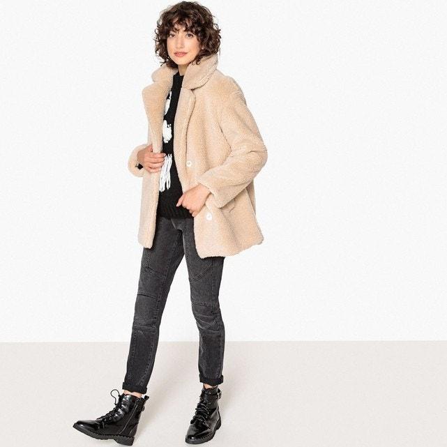 manteau en laine La Redoute