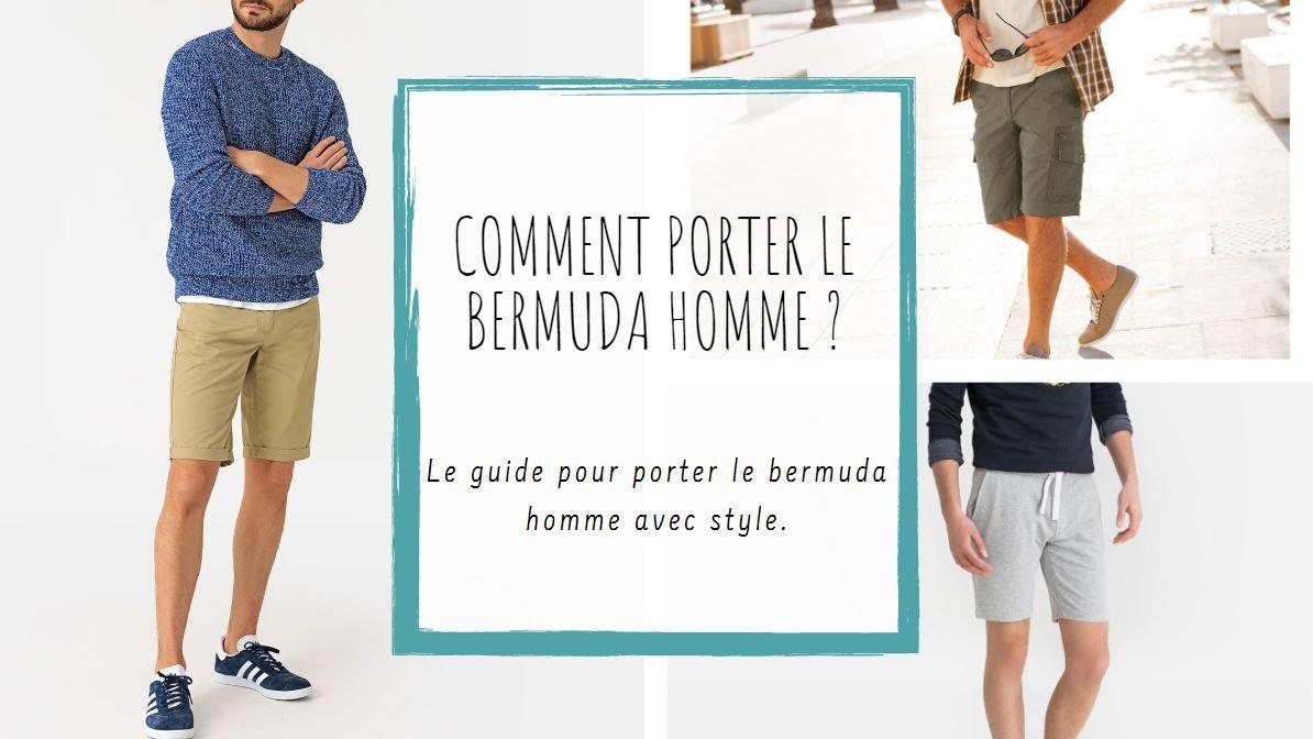 Comment porter le bermuda homme ? | La Redoute