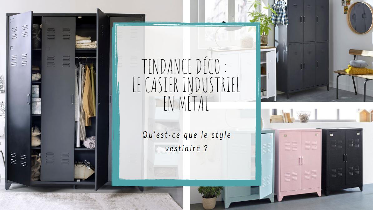 Cantine De Voyage Metallique tendance déco : le casier industriel en métal | la redoute
