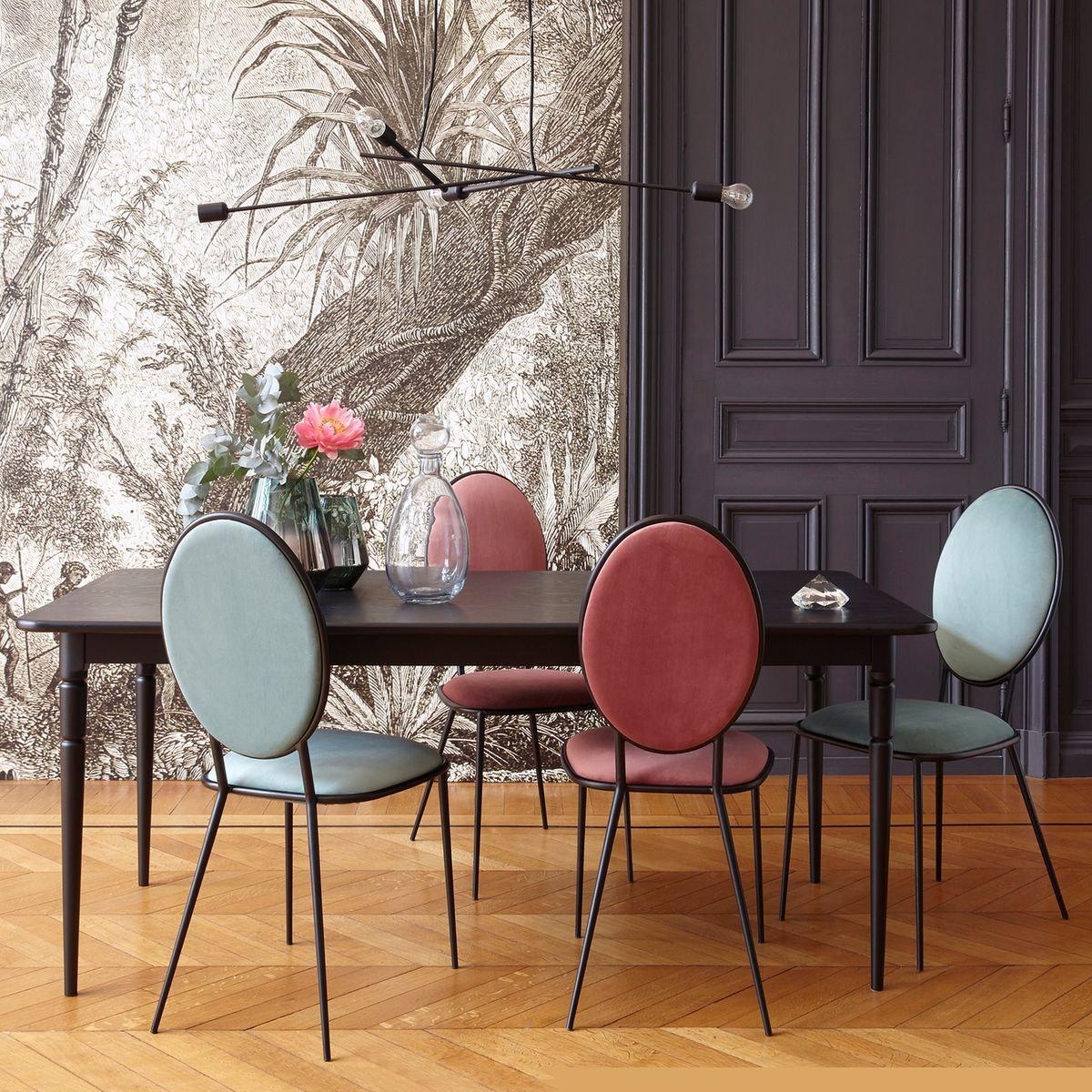 Chaise Dépareillées Salle A Manger: La Chaise Médaillon : Un Classique Revisité