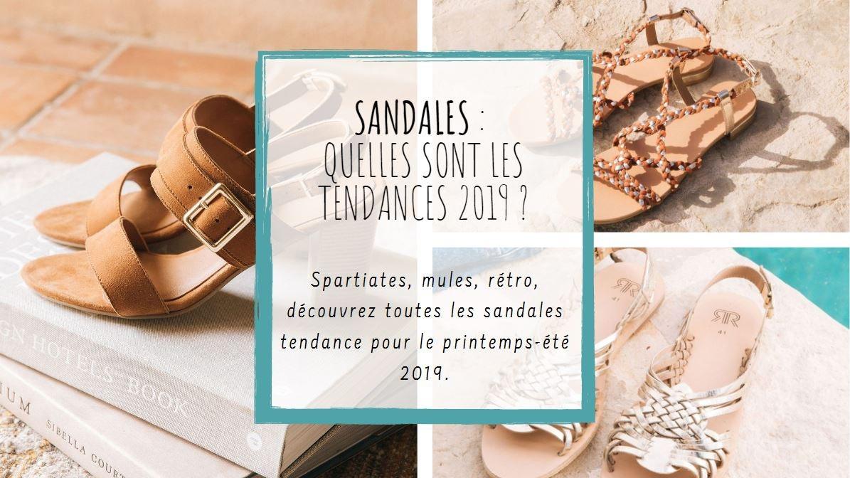 Sont Les Tendances Redoute SandalesQuelles 2019La YbIf7v6gy