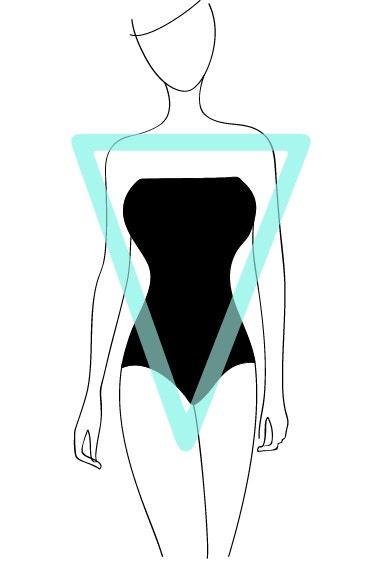 Qual é o seu tipo de corpo? A silhueta 'TRIÂNGULO INVERTIDO', por Bárbara do Ó