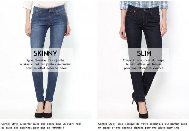 skinny slim