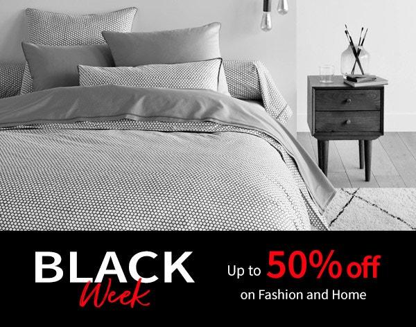 Black Week: Up to 50% off
