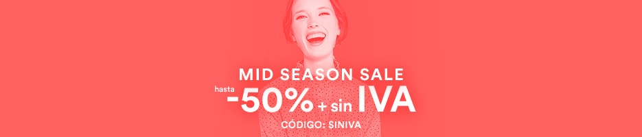 Mid Season Sale hasta -50% + sin IVA