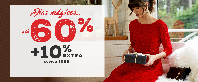 Dias Mágicos até -60% +10% Extra