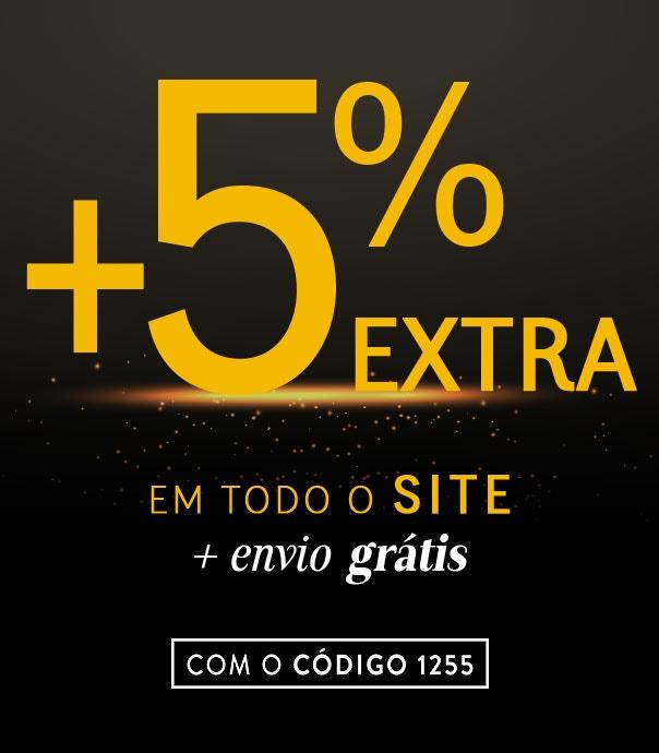 Tudo a 50% +5% EXTRA