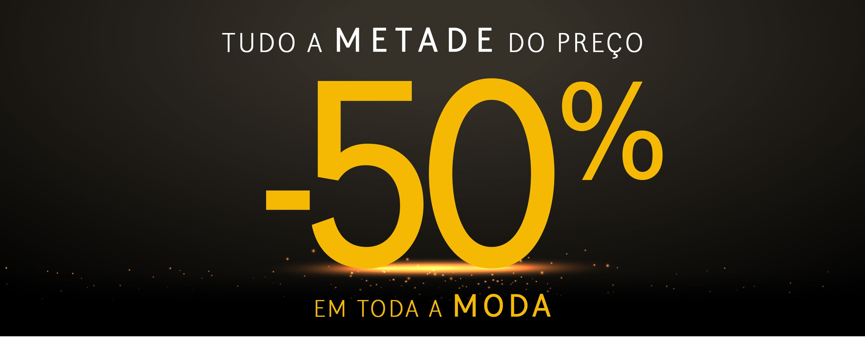 Tudo a 50%