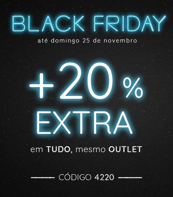 até 60% +20% EXTRA com o código 4220