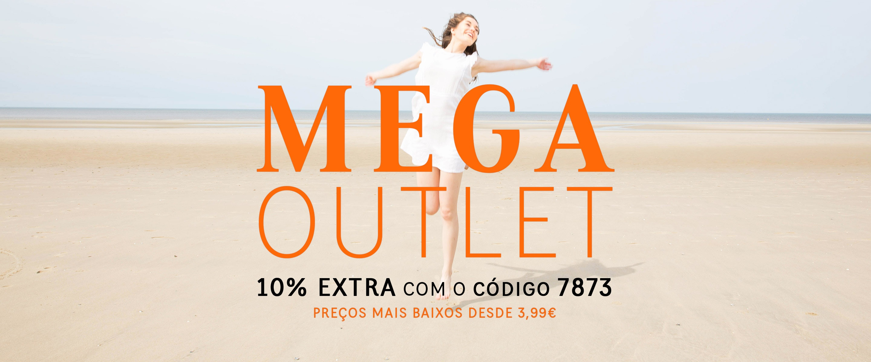 Mega Outlet +10% EXTRA com código 7873