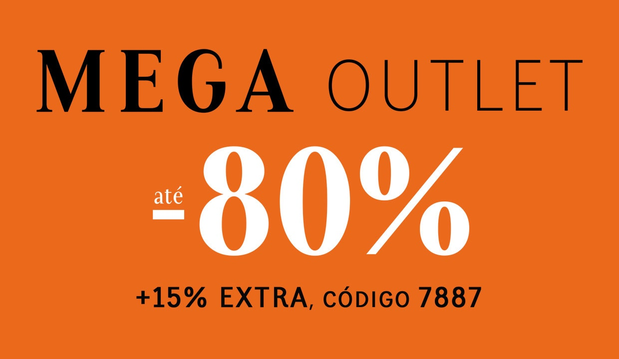 +15% EXTRA no OUTLET