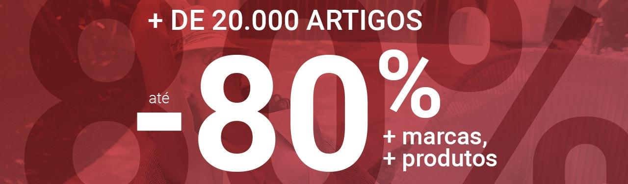 + de 20000 artigos até 80%