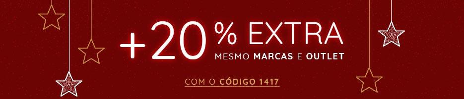 até 60% +20% EXTRA