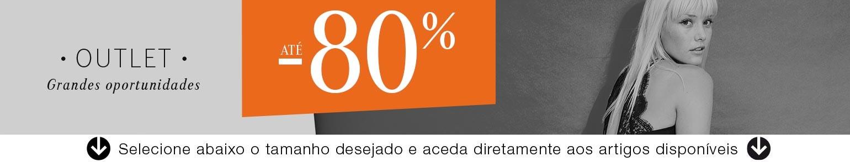 OUTLET até -80%