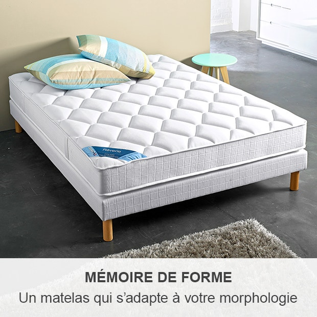 literie la redoute great la redoute literie sommier la. Black Bedroom Furniture Sets. Home Design Ideas