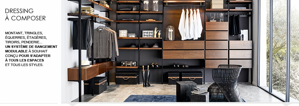 dressing composer ampm tag res pour dressing en solde la redoute. Black Bedroom Furniture Sets. Home Design Ideas