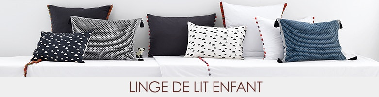 linge de maison enfant ampm en solde la redoute. Black Bedroom Furniture Sets. Home Design Ideas