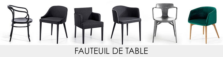 Fauteuil de table am pm la redoute for Fauteuil de table a manger
