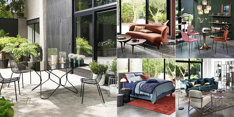 nouvelle collection ampm meubles d coration en solde la redoute. Black Bedroom Furniture Sets. Home Design Ideas