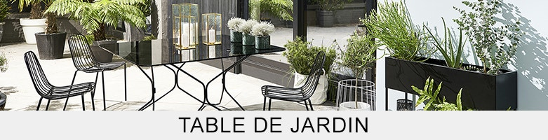 table de jardin ampm la redoute. Black Bedroom Furniture Sets. Home Design Ideas