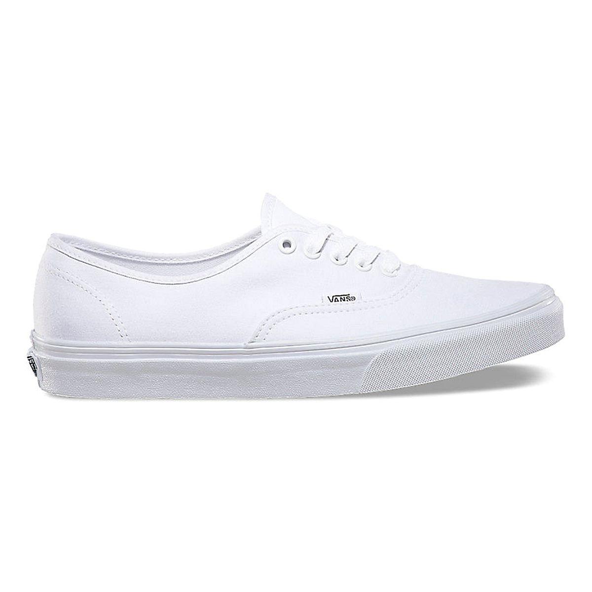 Vans cuir blanc | La Redoute