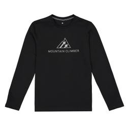 Camiseta de manga larga estampada, 10-18 años