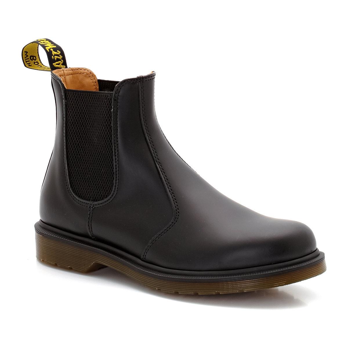 Boots pelle chelsea