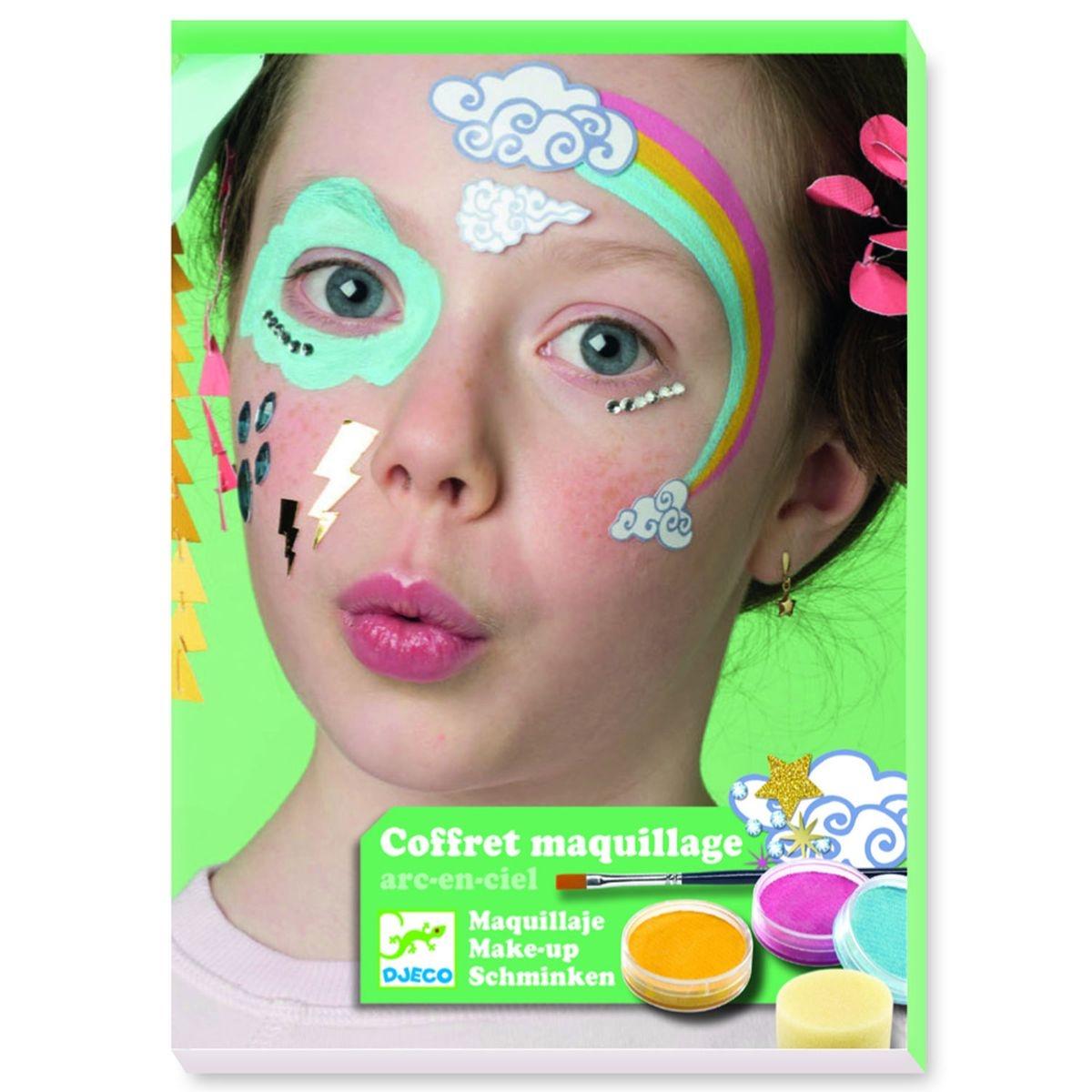 Maquillage Arc en ciel