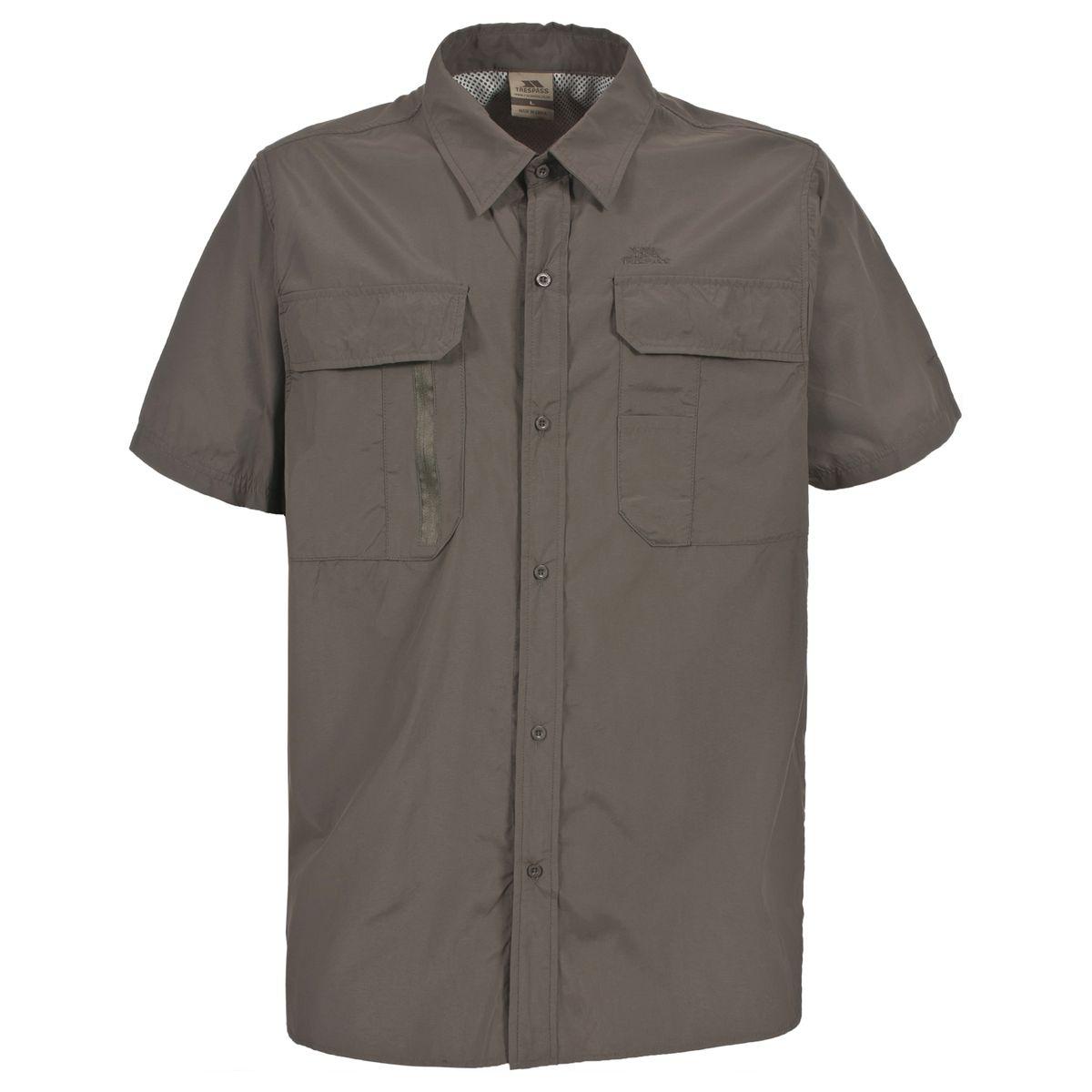 Colly Chemise manche courte randonnée marche homme
