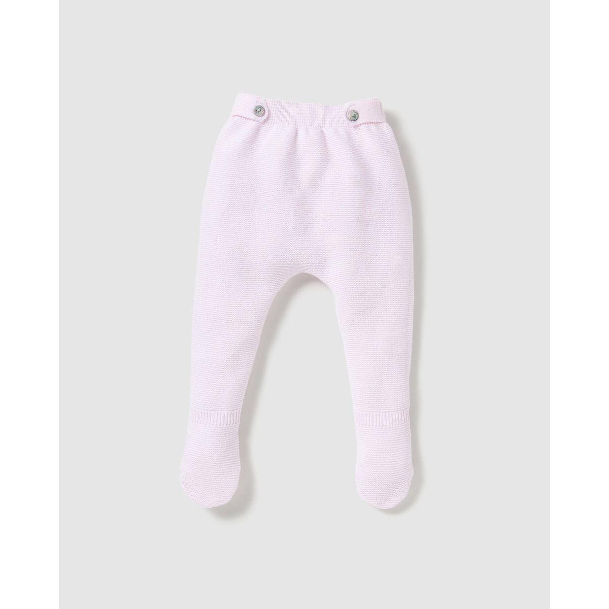 Pantalon à pieds  tricoté