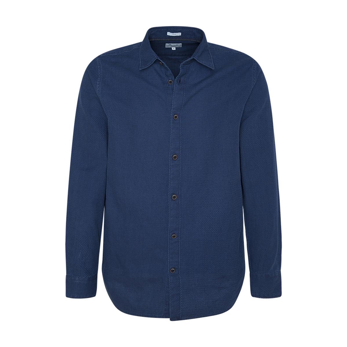 Camisa slim de chambray Keanu
