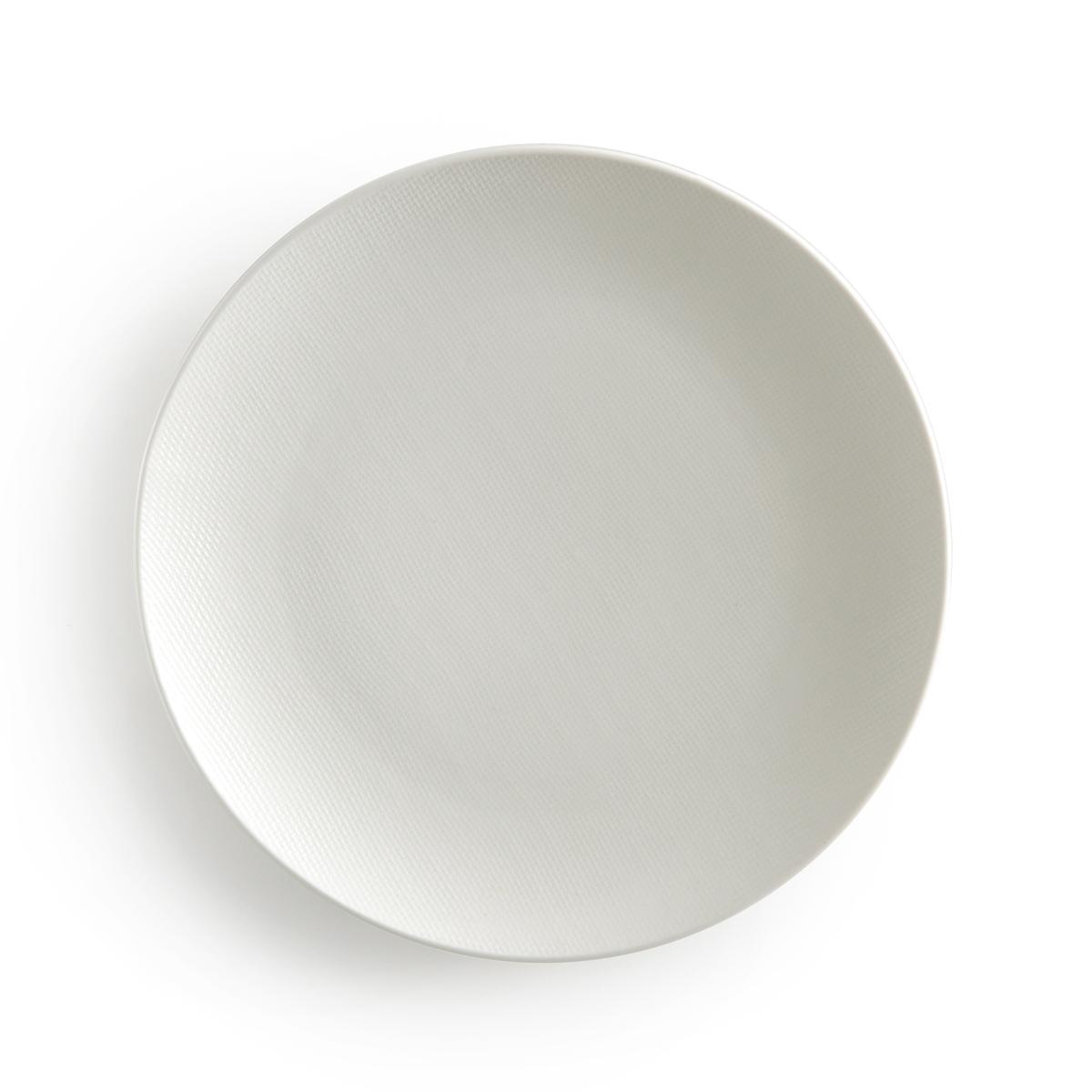 4 тарелки плоские из керамики, Lourette
