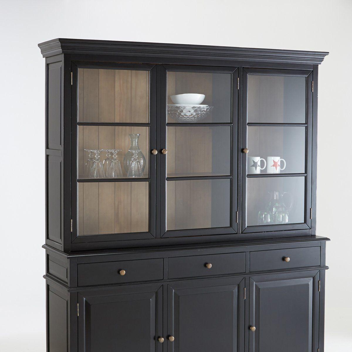 vaisselier 3 portes lipstick partie. Black Bedroom Furniture Sets. Home Design Ideas