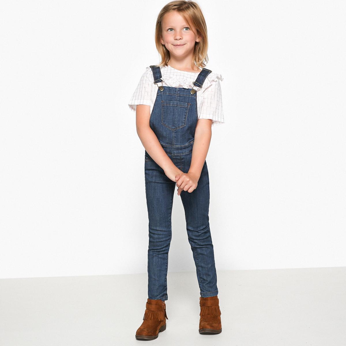 Комбинезон джинсовый, 3-12 лет