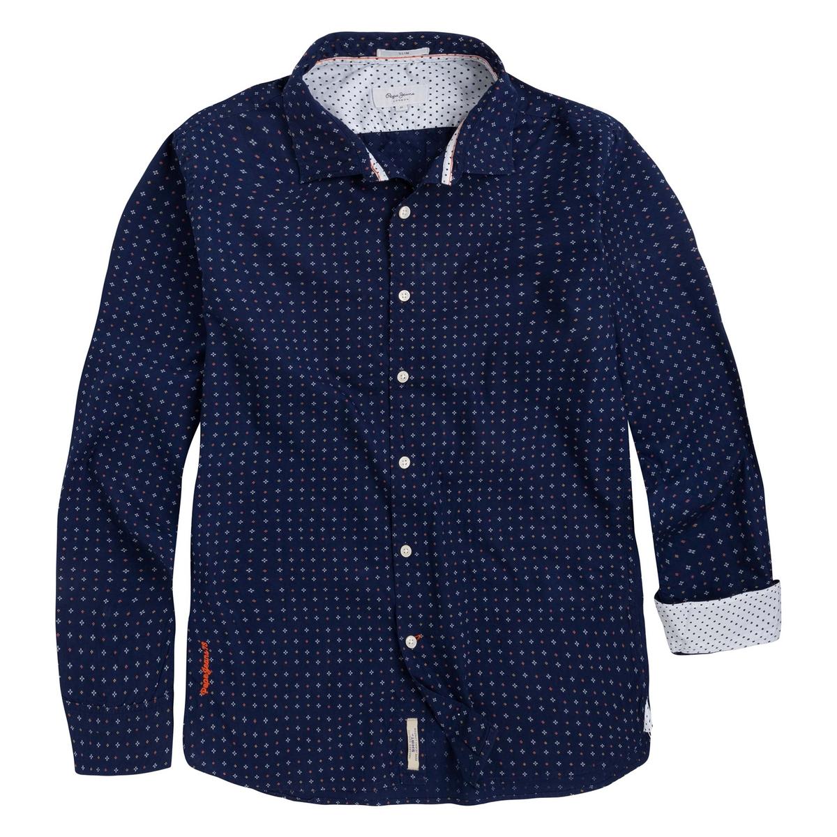 где купить Рубашка прямая с длинными рукавами по лучшей цене