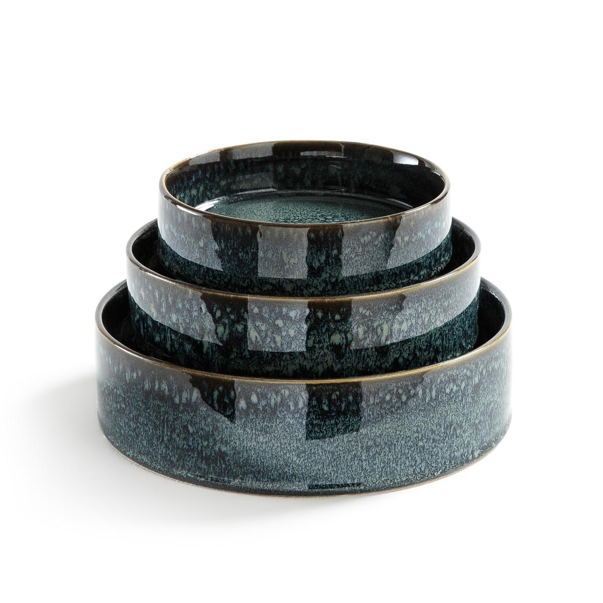 Комплект из 3 кашпо из керамики Caspar
