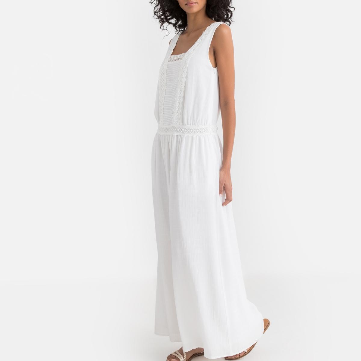 Платье La Redoute Свадебное длинное 42 (FR) - 48 (RUS) бежевый свадебное платье zsc 100pthd lygh29