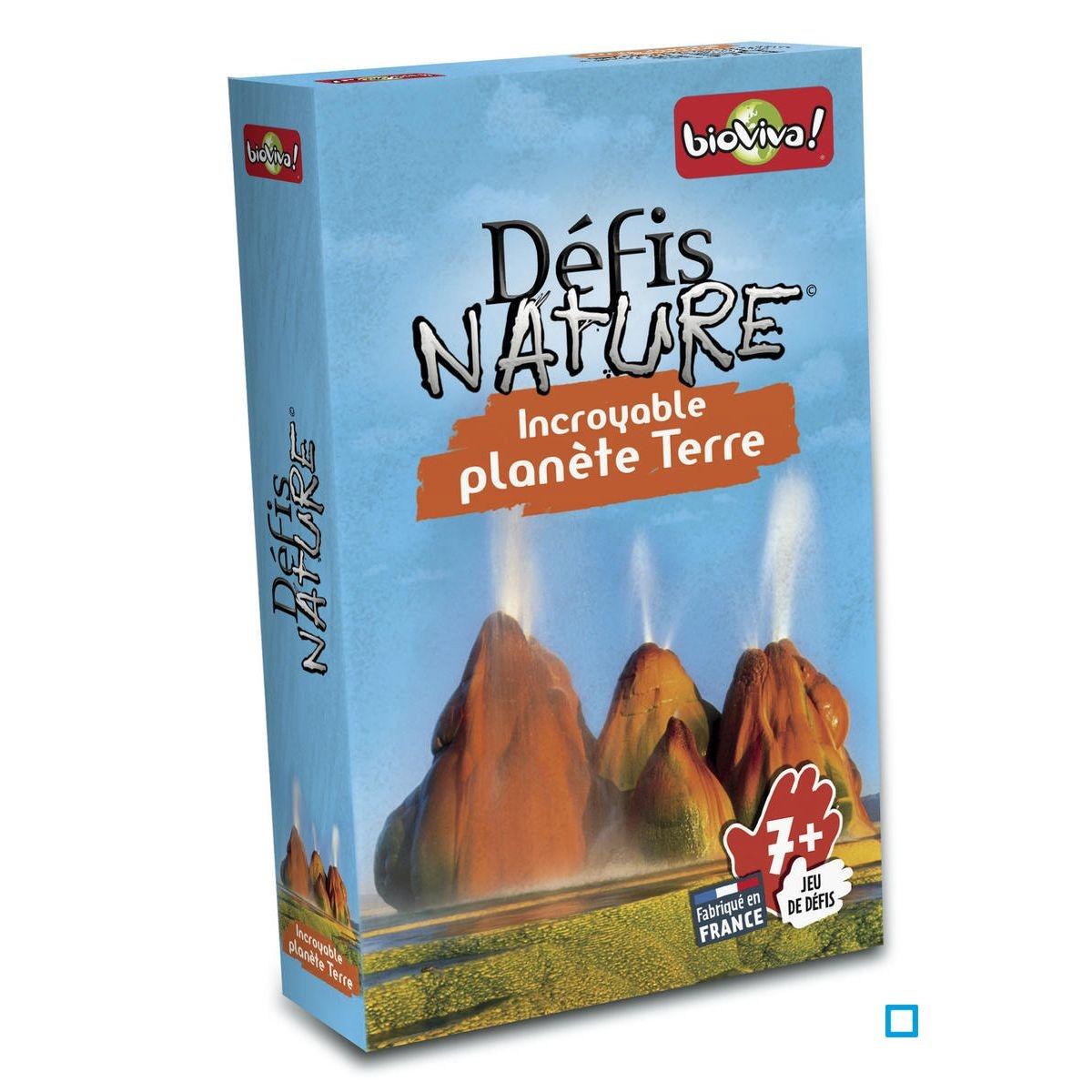 Défis Nature - Incroyable planète Terre - BVI286008