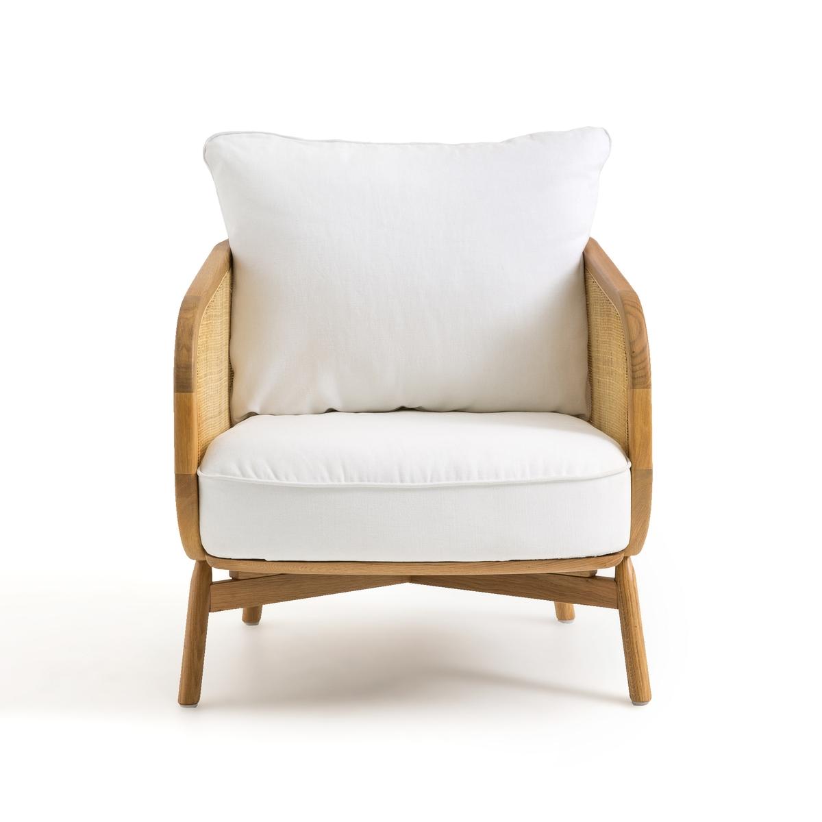 Кресло LaRedoute Cornelius дизайн - Э Галлина единый размер белый