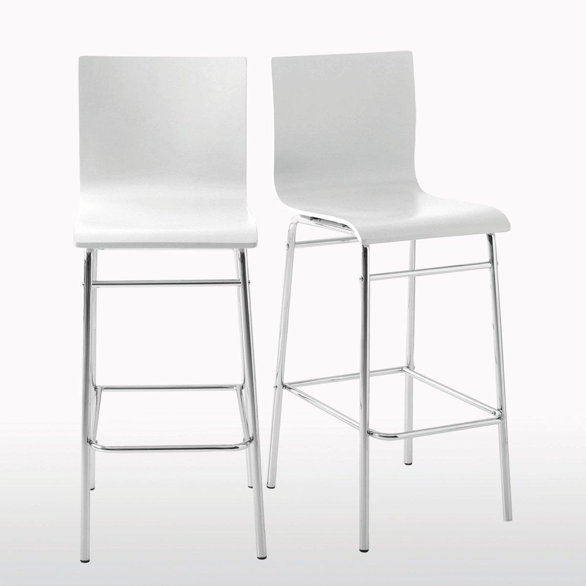 2 стула барных, JanikБарные стулья Janik на высоких ножках! 4 модных цвета, которые можно сочетать, для более яркого эффекта ! Характеристики стульев Janik :Спинка и сиденье из фанеры, ПУ-лакировка .Ножки из хромированной стальной трубки .Стулья продаются по 2 шт одного цвета .Барные стулья Janikпродаются готовыми к сборке Найдите высокий стол Janik, а также всю коллекцию Janik на нашем сайте ..       Размеры высоких стульев Janik :Общие : Ширина : 42 см.Высота : 110 см.Глубина : 50 см.Сиденье : Выс 75 см<br><br>Цвет: белый,желтый,серо-коричневый каштан