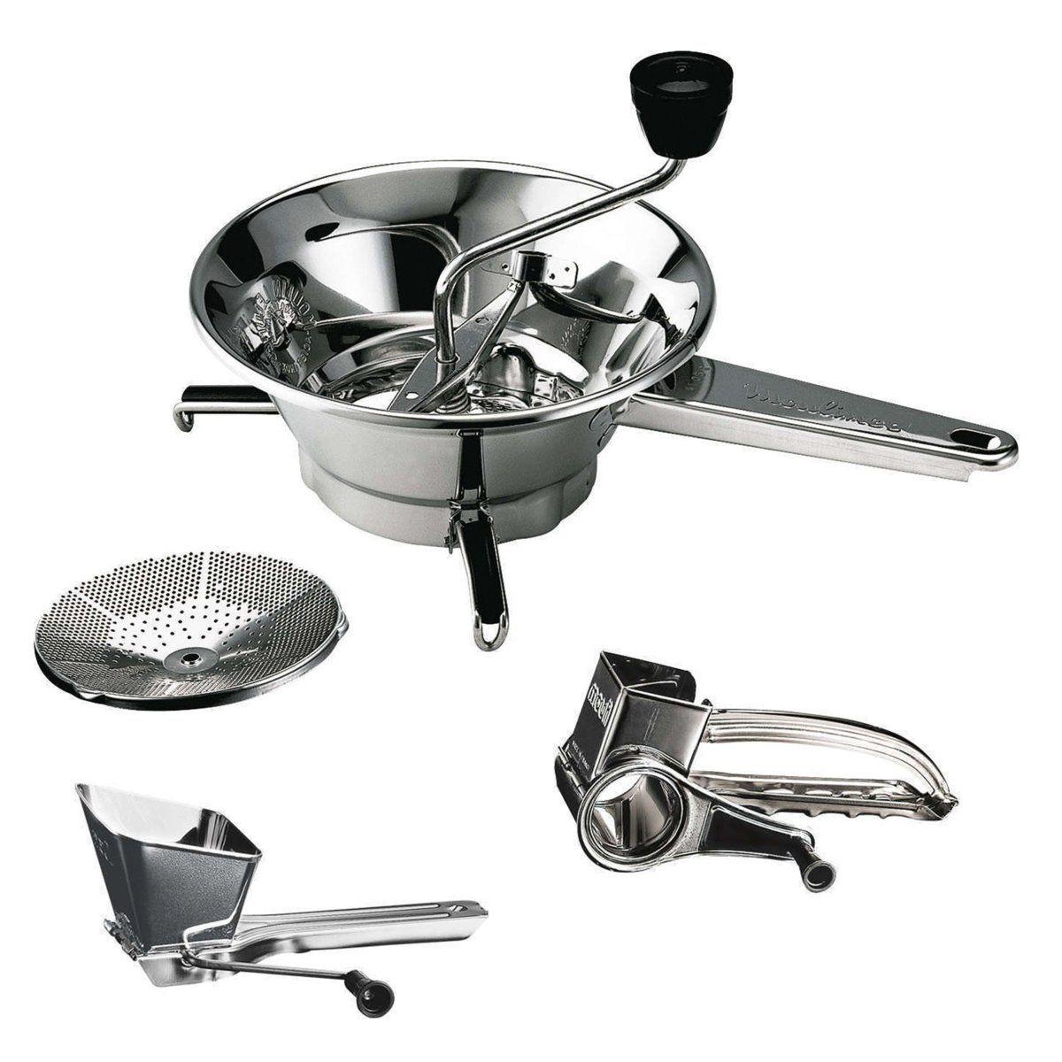 Ustensiles de cuisine inox a45606 a45506 a45306 moulinex - Ustensile de cuisine inox ...