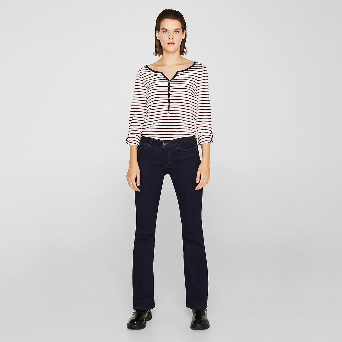 Camiseta a rayas de algodón orgánico