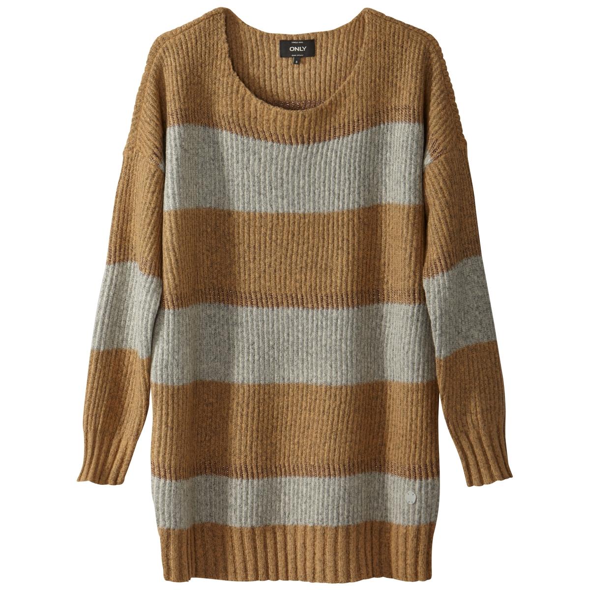 Пуловер с круглым вырезом из плотного трикотажа пуловер из плотного трикотажа cameron