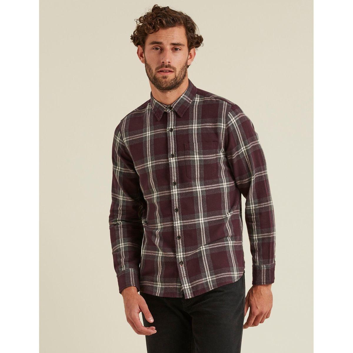 Chemise à carreaux BUCKTON
