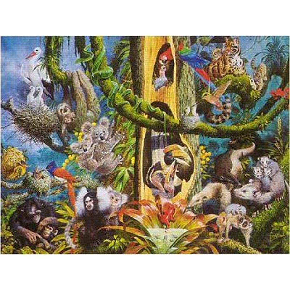 Puzzle 1500 pièces - L'arbre de la vie