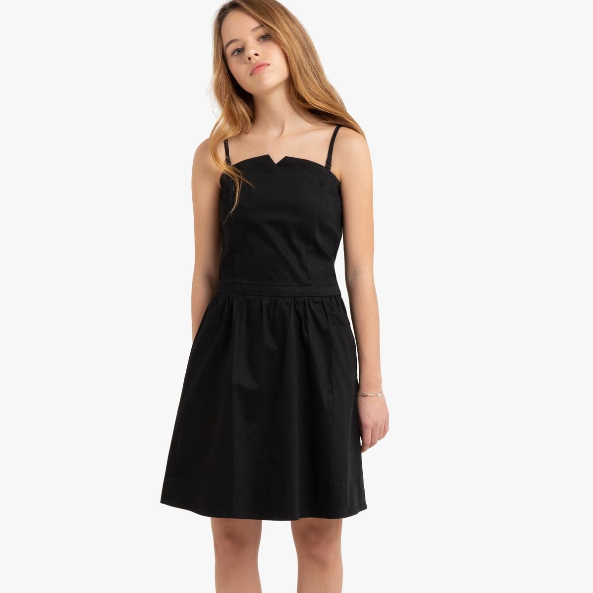 Платье-бюстье La Redoute La Redoute 14 лет - 156 см черный цена и фото
